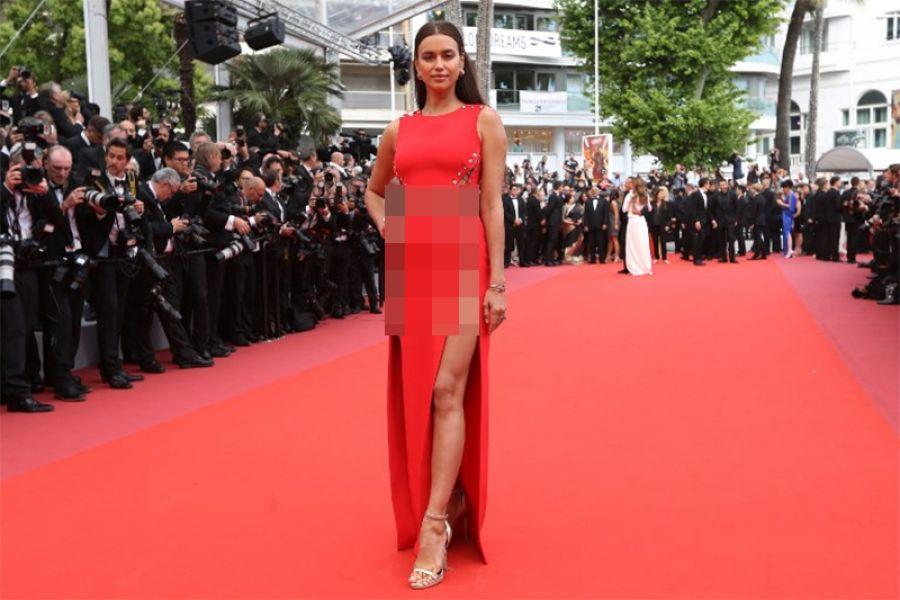 57b8755c80b Χωρίς εσώρουχο στο κόκκινο χαλί η Irina Shayk (Pics), 24Sports & News