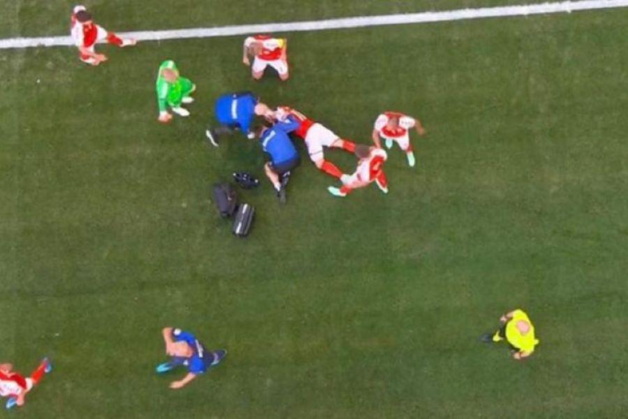 Σοκ: Κατέρρευσε στο γήπεδο ο Έρικσεν, προσπάθησαν να του κάνουν ανάνηψη!, 24Sports & News